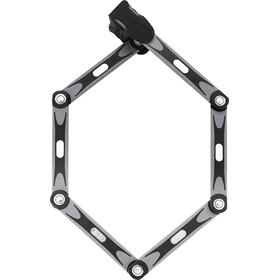 ABUS Bordo 6015 + Bosch Plus RH - Antivol vélo - pour batterie de cadre gris/noir